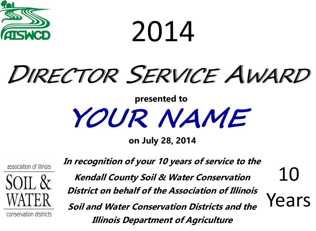 Director Service Awards